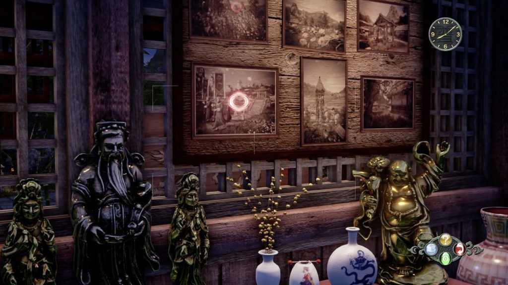 Man yuan temple repository room in Shenmue 3 photo clue